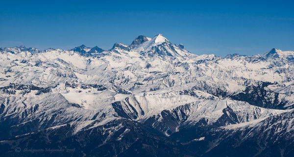 Information about mountains and highest peaks in Jammu and Kashmir